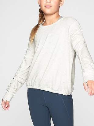 Athleta Girl Scrunch It Up Sweatshirt