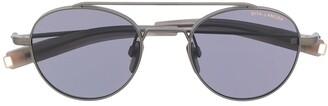 Dita Eyewear circular aviator sunglasses