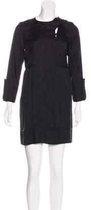 Hoss Intropia Wool & Silk Mini Dress