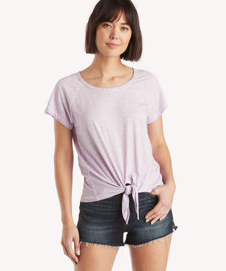 Sanctuary Women's Lou Tie Tee In Color: Charming Lilac Size XS From Sole Society