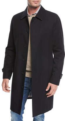 Sanyo Balmacaan Gabardine Overcoat