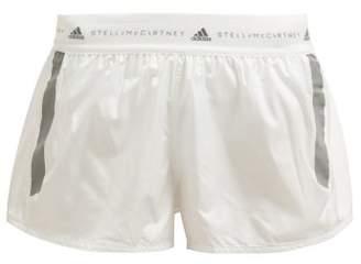 adidas by Stella McCartney Run Adizero Recycled Fabric Shorts - Womens - White
