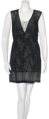 Robert Rodriguez Sleeveless Lace Dress w/ Tags