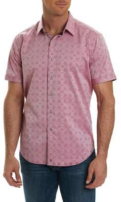 Robert Graham Maya Bay Classic Fit Jacquard Sport Shirt