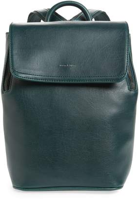 Matt & Nat Mini Fabi Faux Leather Backpack