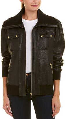 Trina Turk La Cienega Leather Jacket
