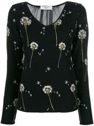 Blugirl floral V-neck sweater