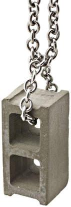 Max Steiner Design Cinder Block Necklace