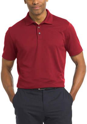 Van Heusen Short Sleeve Knit Polo Shirt