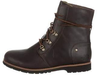 The North Face Leather Mid-Calf Boots