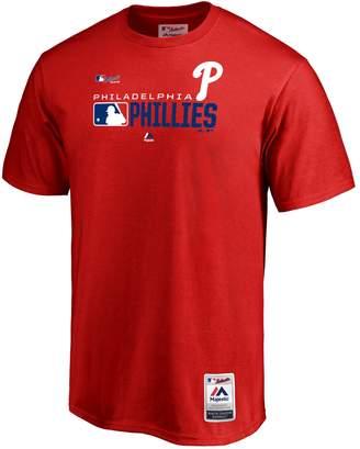 Majestic Men's Philadelphia Phillies Authentic Graphic Tee