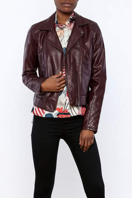 Jack by BB Dakota Vegan Moto Jacket $85 thestylecure.com