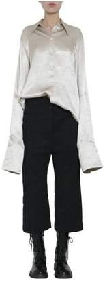 Ann Demeulemeester Satin Shirt
