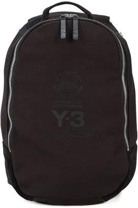 Y-3 zipped backpack