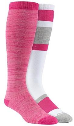 Reebok Block Mix Knee High Socks - 2 Pair