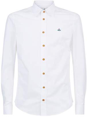 Vivienne Westwood Embroidered Orb Shirt