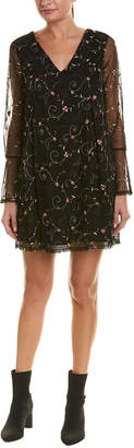 BCBGeneration Floral Shift Dress