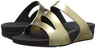 FitFlop Superjelly Twist Metallic Women's Sandals