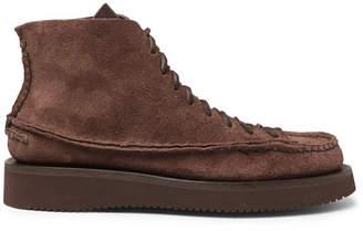 Yuketen Sneaker Moc High Leather Boots