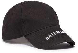 Balenciaga 'Everyday' logo embroidered visor baseball cap