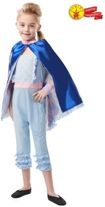 Rubie's Costume Co Girls Disney Toy Story 4 Deluxe Bo Peep Fancy Dress Costume - White