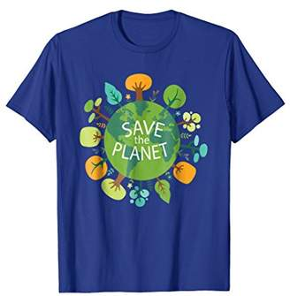 Save The Planet Eco Design T-Shirt For Men