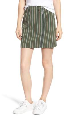 The Fifth Label Axial Stripe Miniskirt