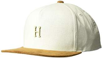 HUF Men's Small Metal H Strapback