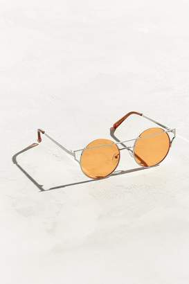Urban Outfitters Barred Lens Round Sunglasses