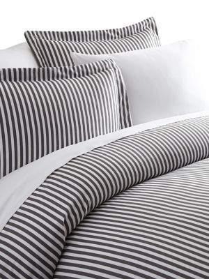 Blissful Bedding Premium Ultra Soft Three-Piece Ribbon Pattern Duvet Cover Set