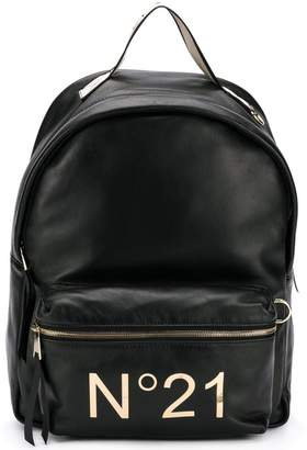 No.21 centre logo backpack