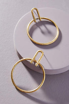 A.N.A Serefina Hoop Drop Earrings