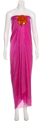 Lanvin Strapless Maxi Dress