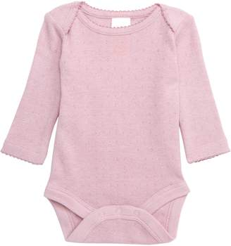 Boden Mini Supersoft Pointelle Bodysuit