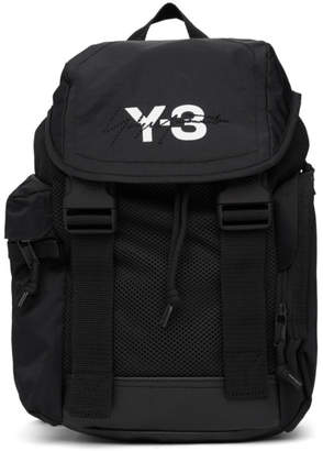 Y-3 Black XS Mobility Backpack