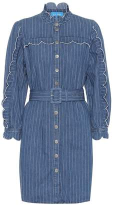 MiH Jeans Covey striped denim dress