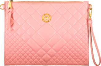 Versace Quilted Chain Wristlet