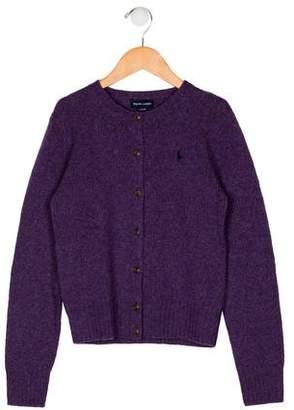 Ralph Lauren Girls' Knit Wool Cardigan