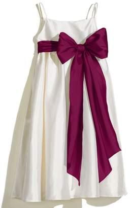 Us Angels A-Line Dress with Sash
