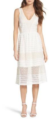 Women's Chelsea28 Lace Midi Dress $159 thestylecure.com