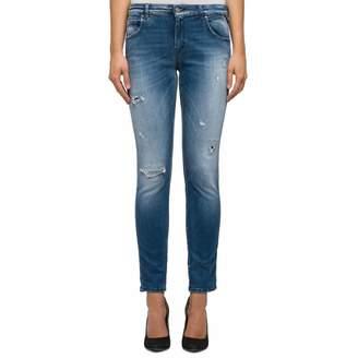 Blue Hyperflex Katewin Slim Stretch Jeans