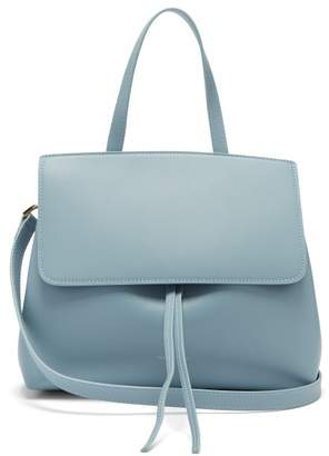 Mansur Gavriel Mini Lady Leather Cross Body Bag - Womens - Light Grey