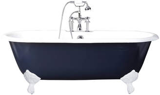Rejuvenation 5-1/2' Double-Ended Clawfoot Tub with Navy Exterior