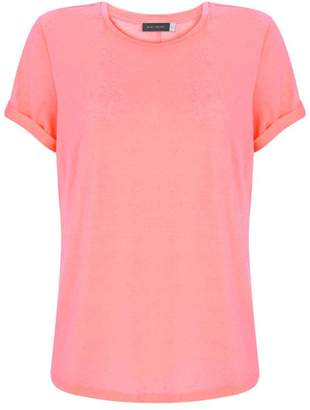 Mint Velvet Neon Orange Nep Jersey Tee