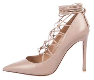 948caddc539 Valentino Gold Heels - ShopStyle Canada