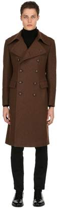 Tagliatore Double Breasted Wool Coat