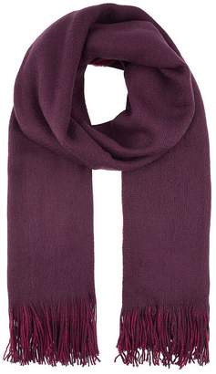 Accessorize Opp Two-tone Brushed Scarf - Multi