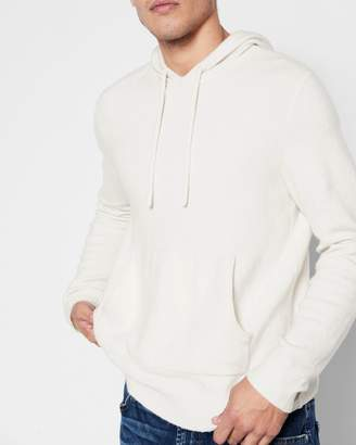7 For All Mankind Pullover Sweater Hoodie in Ivory