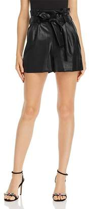 Amanda Uprichard Tessi Faux-Leather Shorts - 100% Exclusive