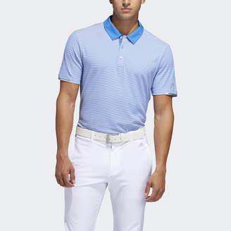 adidas Climachill Tonal Stripe Polo Shirt